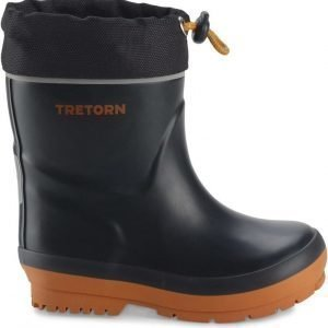 Tretorn Kumisaappaat Kuling winter Black/Orange