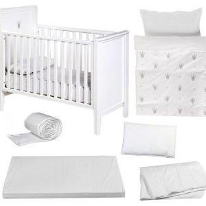 Troll & NG Baby Royal Pinnasänky+tekstiilit Paketti