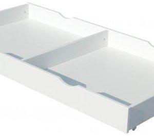 Troll Sängynaluslaatikko Valkoinen 60x120 cm