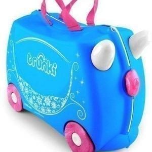 Trunki Matkalaukku Pearl Prinsessavaunut Sininen