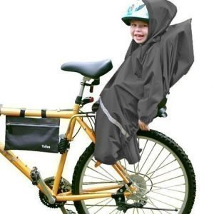 Tullsa Sadesuoja pyöränistuimelle Musta