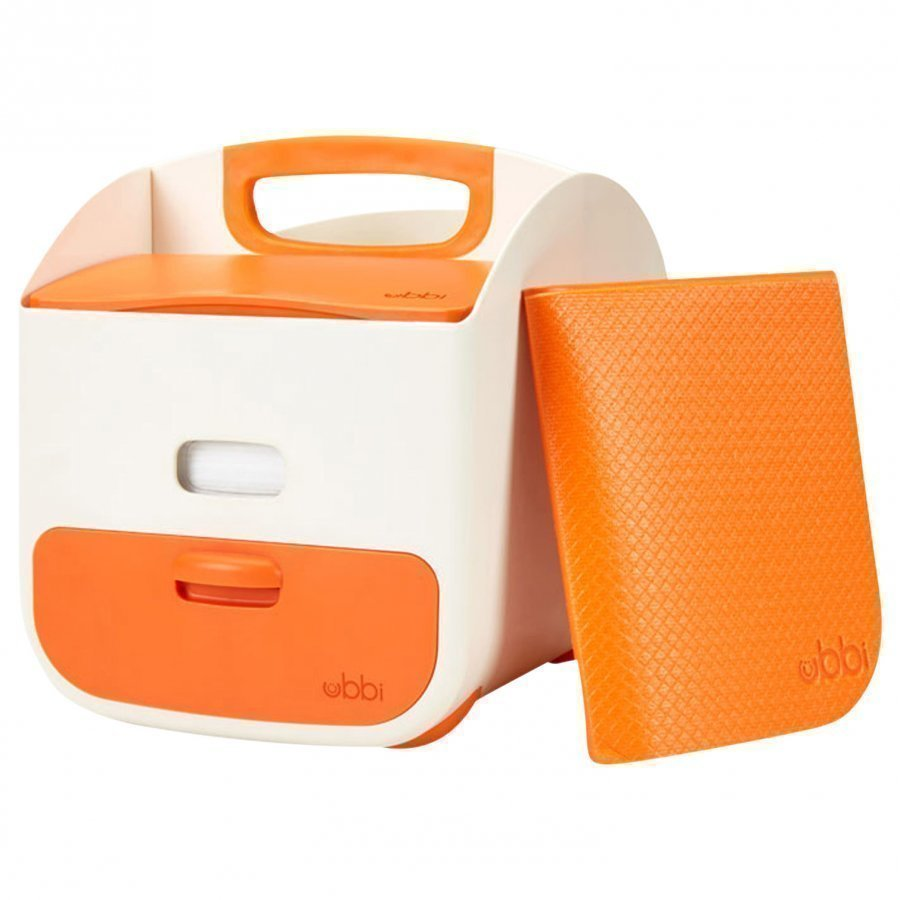 Ubbi Diaper Caddy Orange Potta