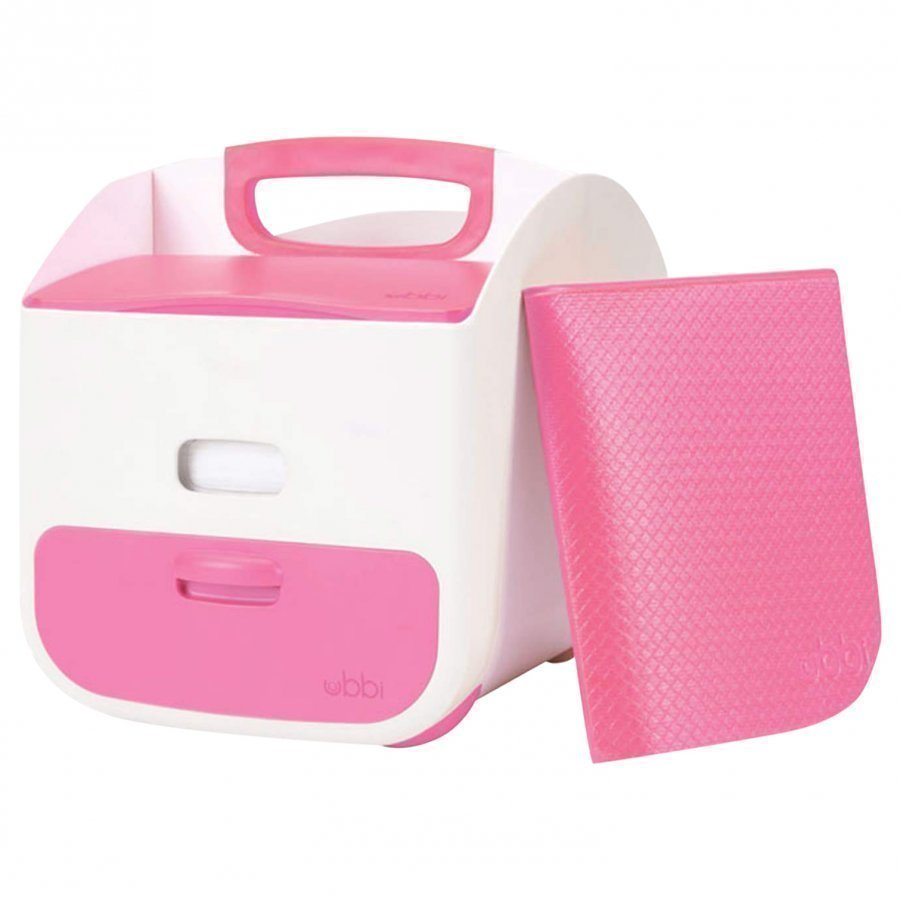 Ubbi Diaper Caddy Pink Potta