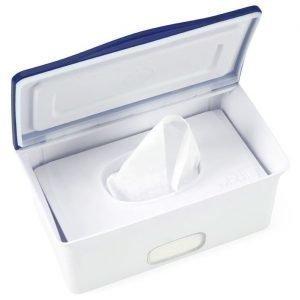 Ubbi Säilytyslaatikko vauvan kosteuspyyhkeille Navy