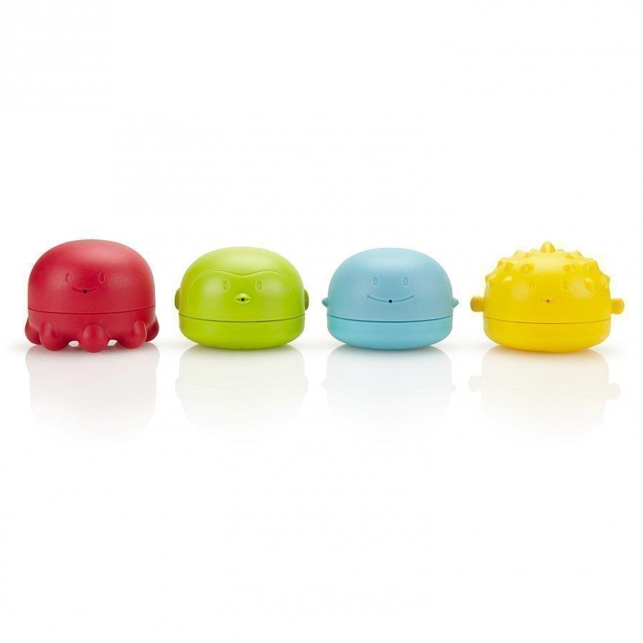 Ubbi Squeeze 'N Switch Bath Toys Kylpylelu