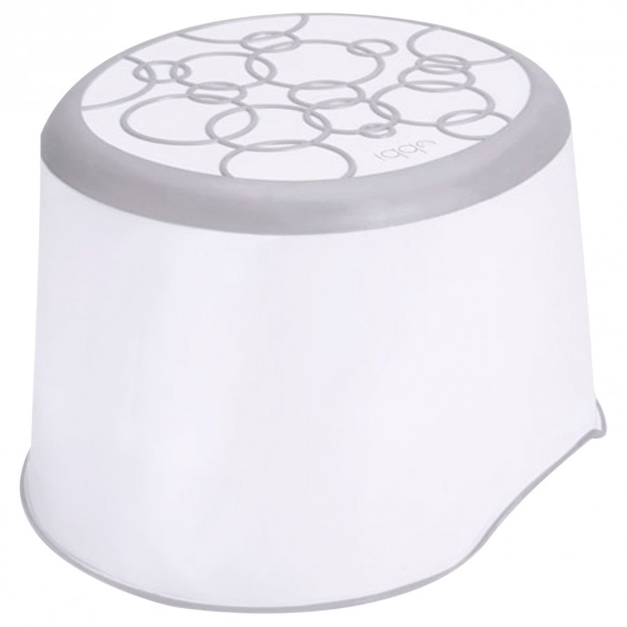 Ubbi Step Stool Grey Potta