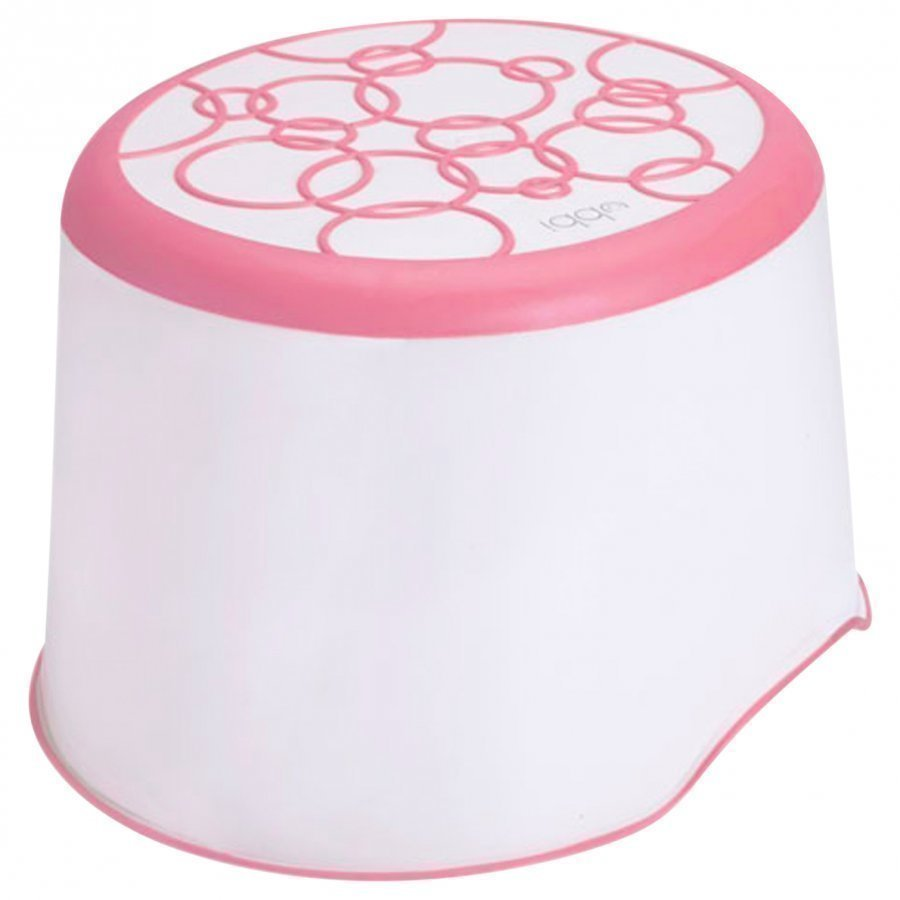 Ubbi Step Stool Pink Potta