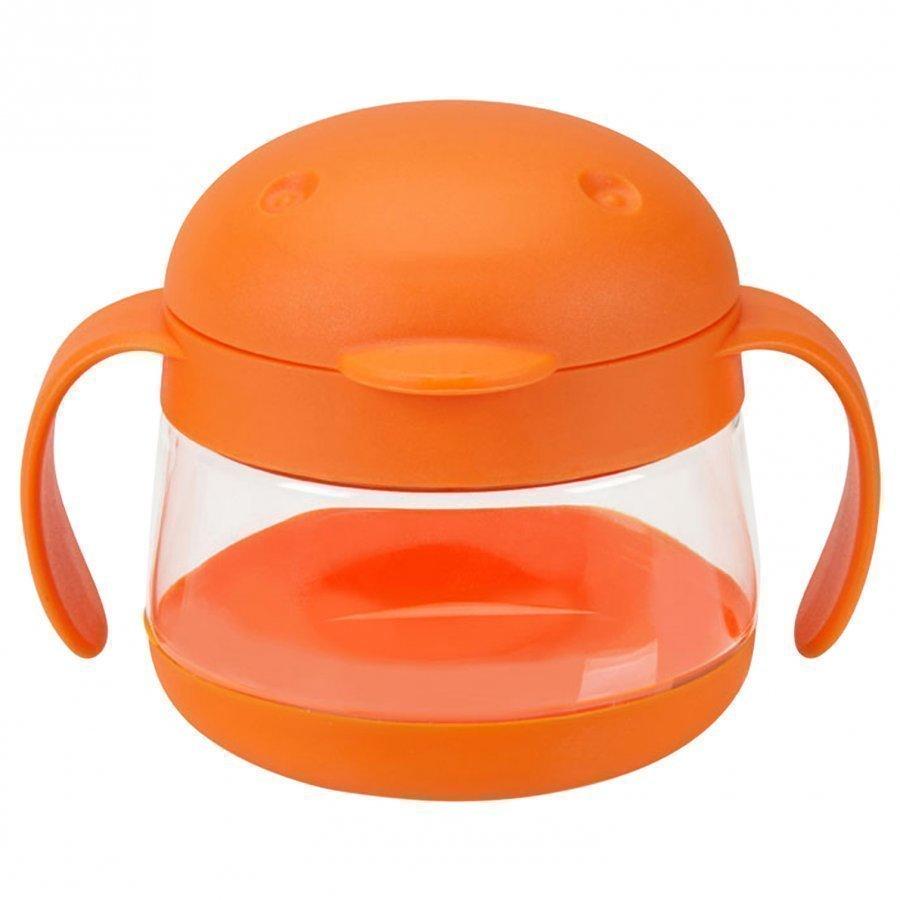 Ubbi Tweat Snack Kuppi Oranssi Ruokailusetti