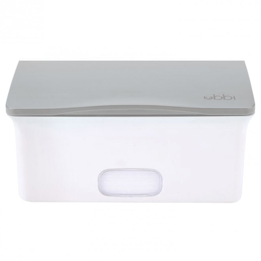 Ubbi Wipes Box Grey Potta