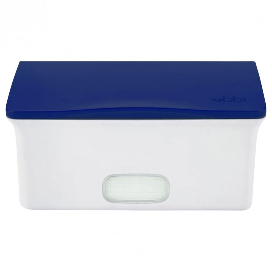 Ubbi Wipes Box Navy Potta