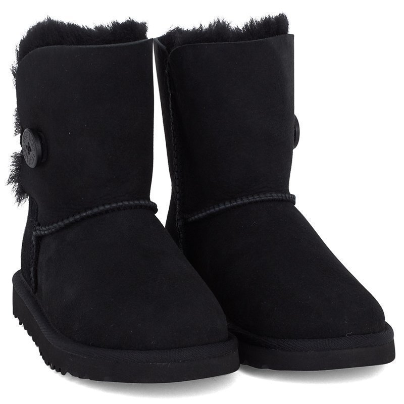 Ugg Bailey Button Black Nilkkurit