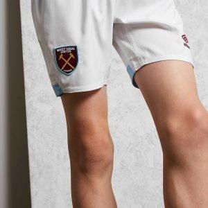 Umbro West Ham United Fc 2018/19 Home Shortsit Valkoinen