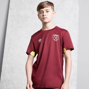 Umbro West Ham United Fc Training Shirt Punainen