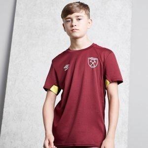 Umbro West Ham United Fc Training Shirt Punainen