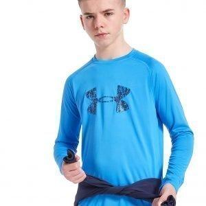 Under Armour Big Logo Long Sleeve T-Shirt Sininen