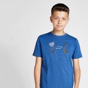 Under Armour Big Logo T-Shirt Sininen