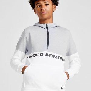 Under Armour Double Knit 1/2 Zip Hoodie Valkoinen