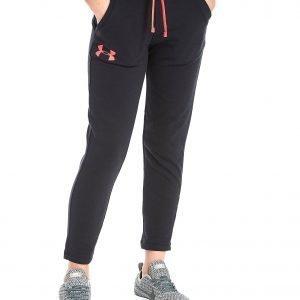 Under Armour Girls' Threadborne Crop Pants Musta