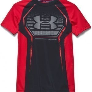 Under Armour T-paita Armour Up Black/Risk Red
