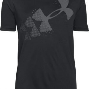 Under Armour T-paita Rising Pixelated logo Black