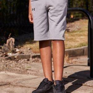 Under Armour Threadborne Fleece Shorts Harmaa