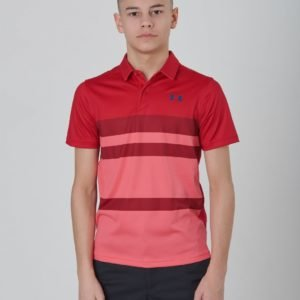 Under Armour Tour Tips Engineered Polo Pikee Punainen