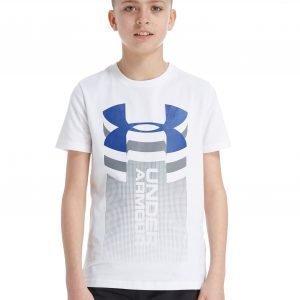 Under Armour Vertical Logo T-Shirt Valkoinen