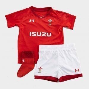 Under Armour Wales Ru 2017/18 Kit Infant Punainen