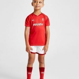Under Armour Wales Ru Home Kit Punainen