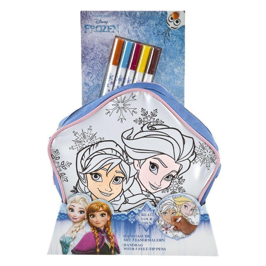 Undercover Käsilaukku Itse Väritettävä Disney Frozen