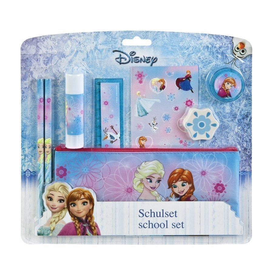 Undercover Koulusetti 8 Osainen Disney Frozen