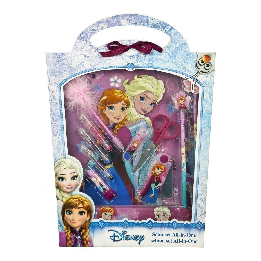 Undercover Koulusetti All In One Disney Frozen