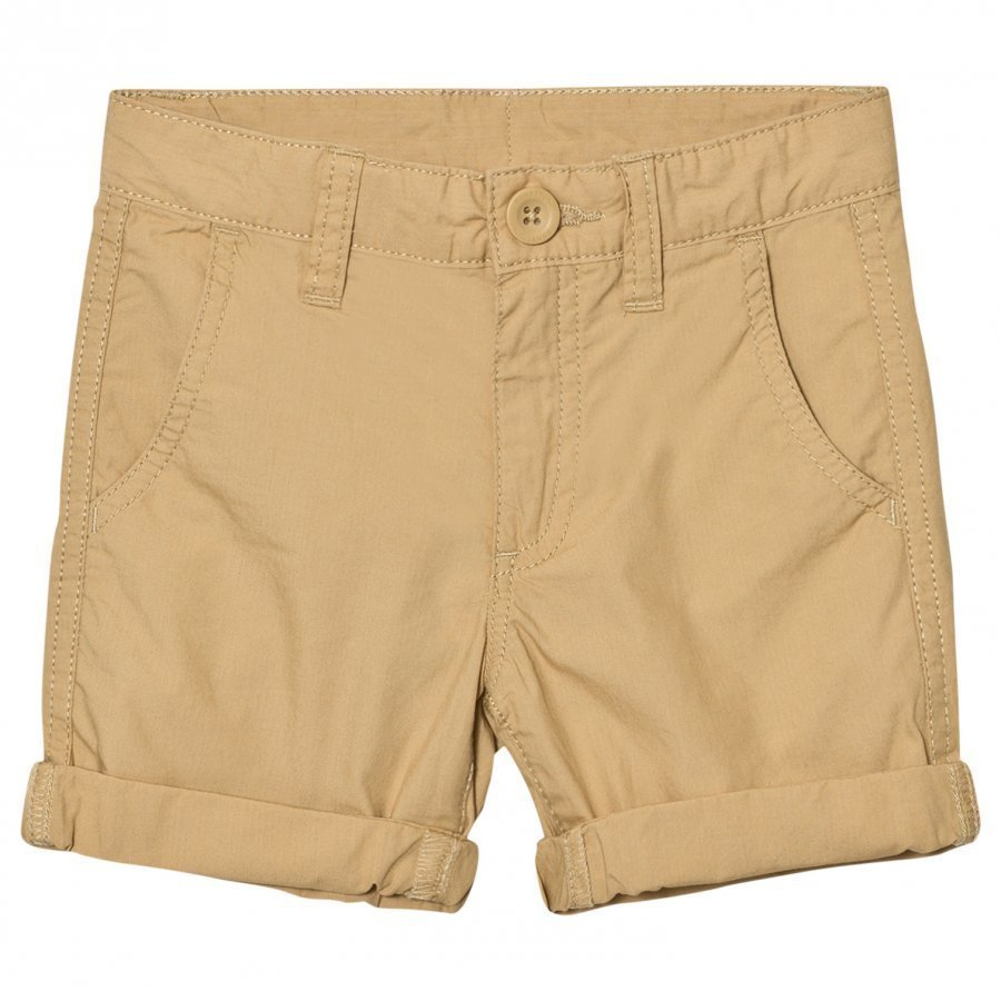 United Colors Of Benetton Beige Cotton Chino Shorts Shortsit