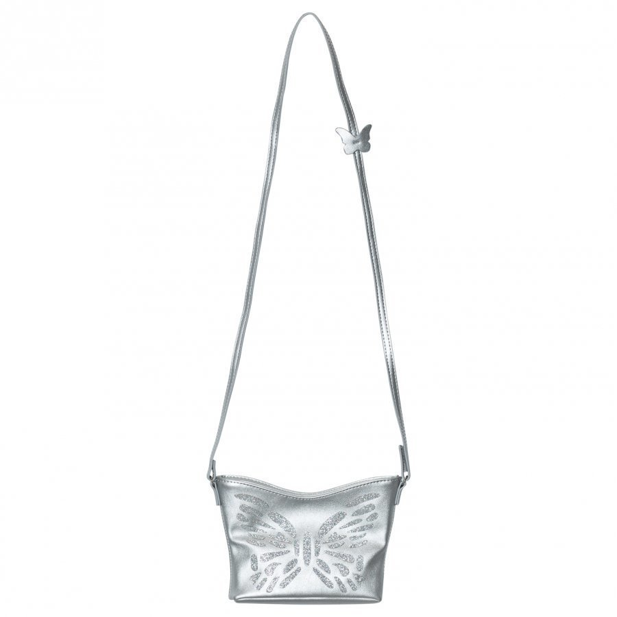United Colors Of Benetton Butterfly Handbag Silver Käsilaukku