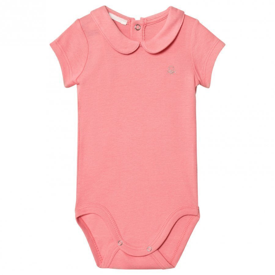 United Colors Of Benetton Classic Logo Baby Body In Pink Body