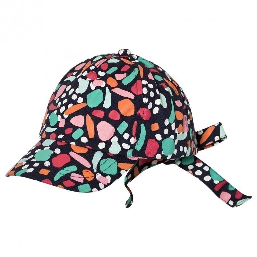 United Colors Of Benetton Coloured Cap With Tie Back Lippis