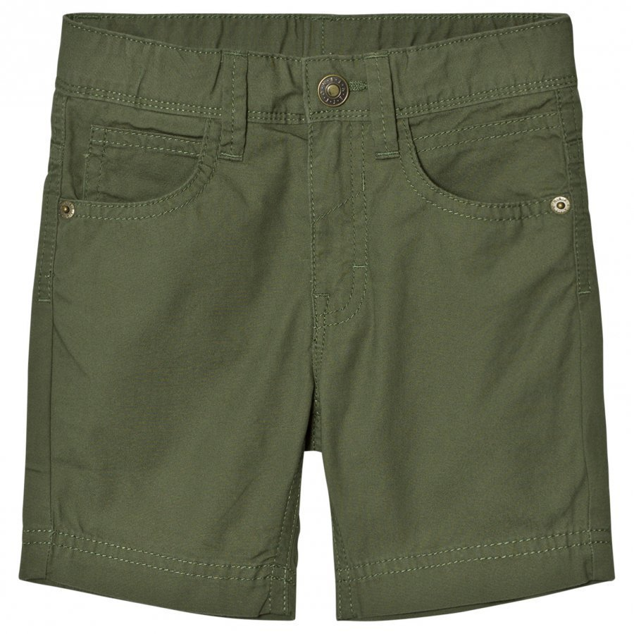 United Colors Of Benetton Cotton Shorts Khaki Cargo Shortsit