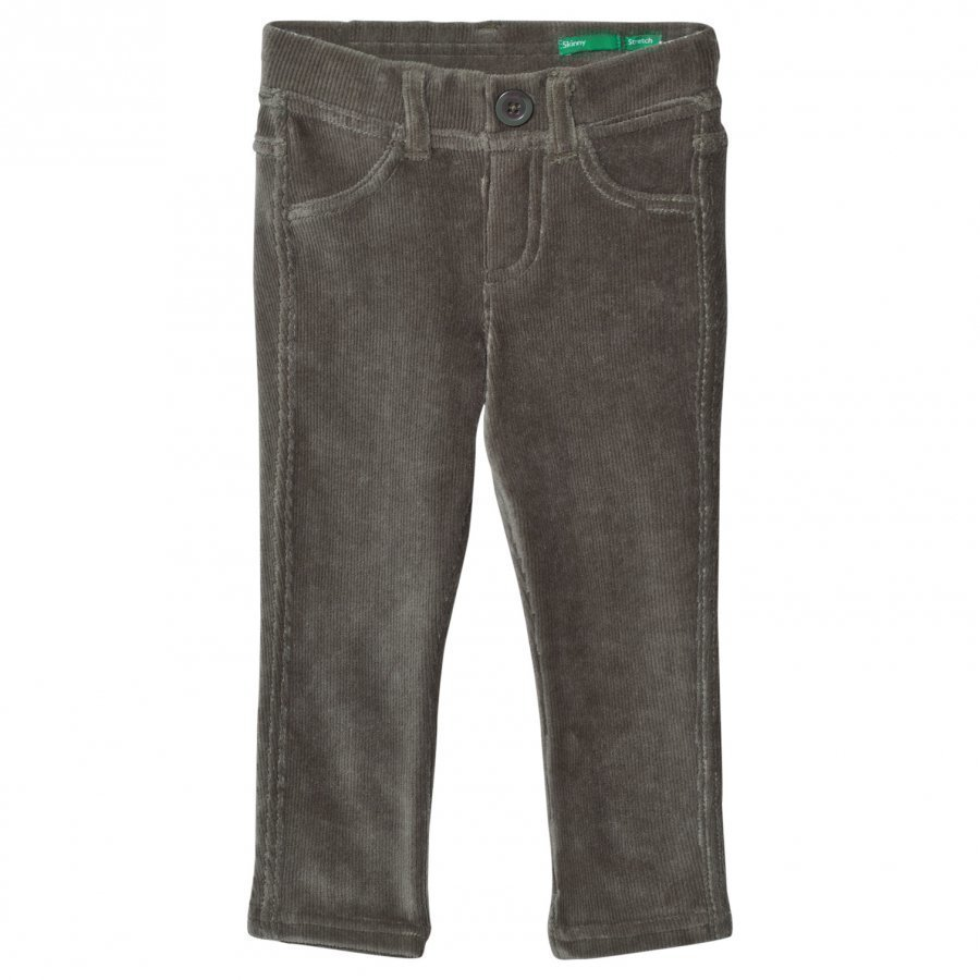 United Colors Of Benetton Green Trousers Housut