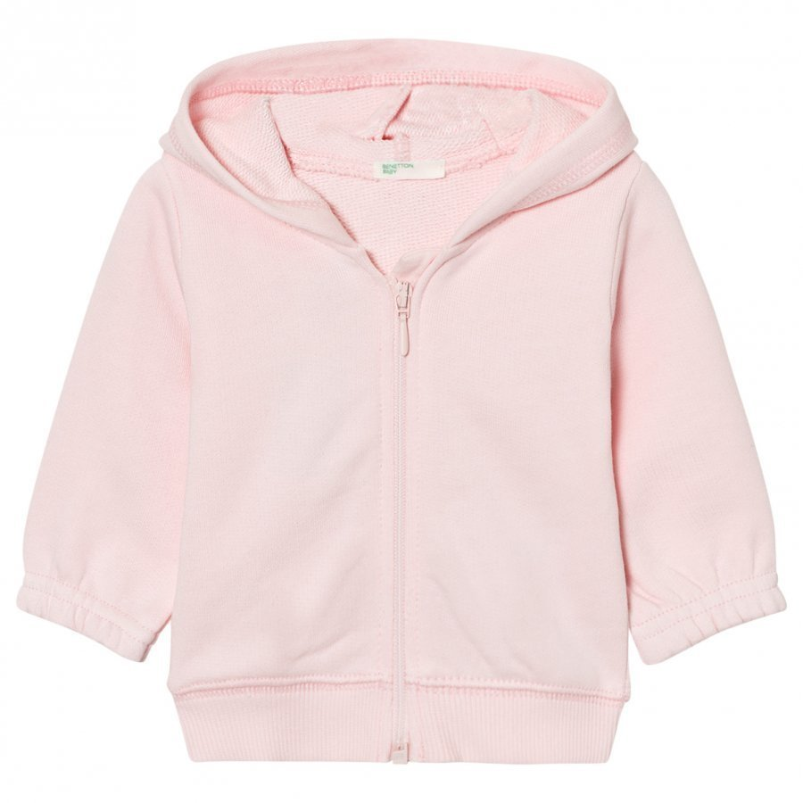 United Colors Of Benetton Hooded Bear Jacket Pink Oloasun Paita