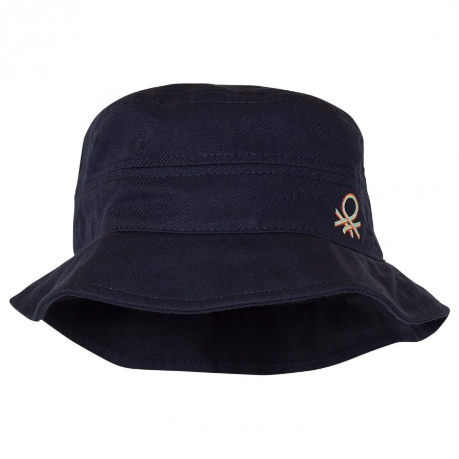 United Colors Of Benetton Navy Cotton Sun Hat Aurinkohattu
