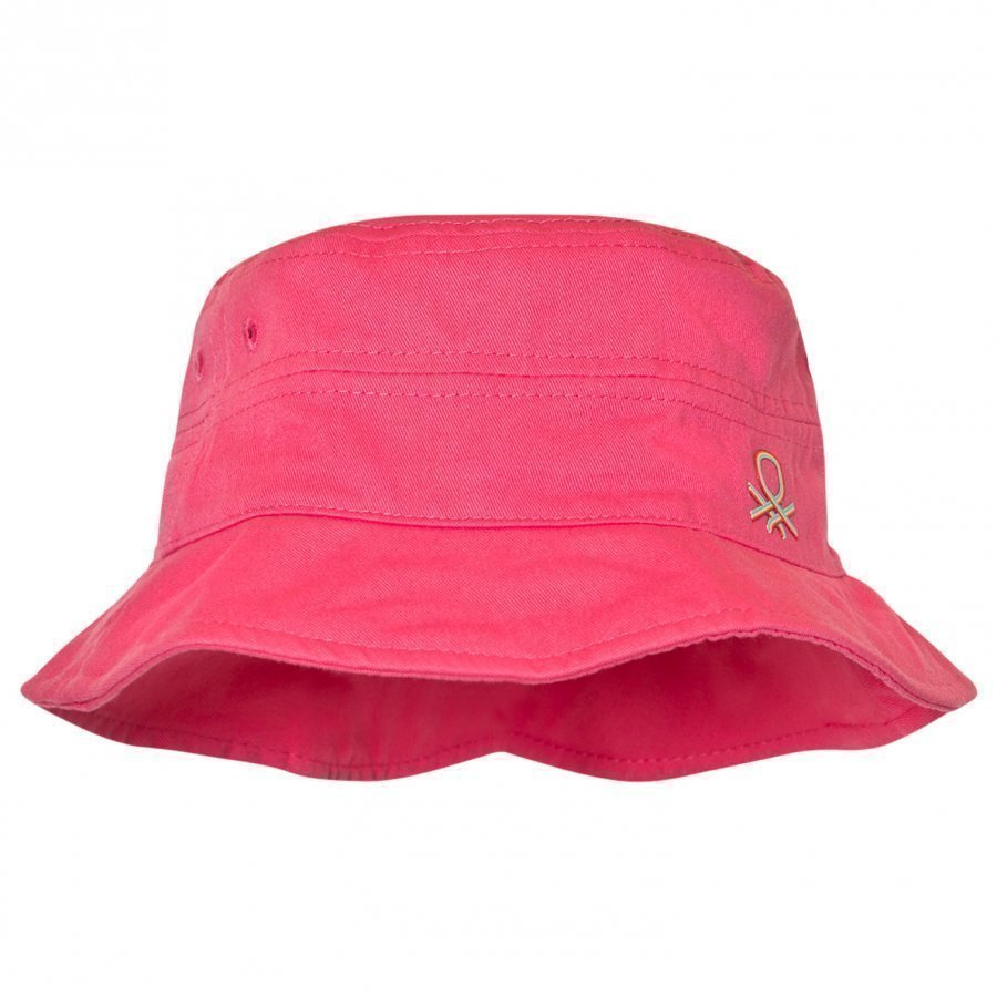 United Colors Of Benetton Pink Cotton Sun Hat Aurinkohattu