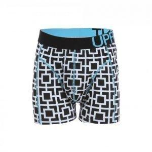 Upfront Mono Hype Underwear Bokserit Musta / Vaaleansininen
