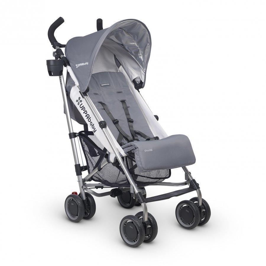Uppababy G-Luxe Stroller Pascal Grey Sateenvarjorattaat