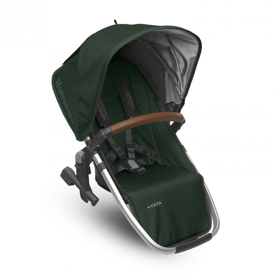 Uppababy Vista Rumbleseat Austin Hunter Silver Frame With Leather Istuin