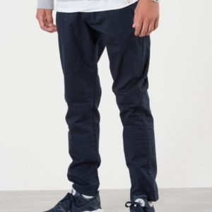 Us Polo Core Chino Trouser Housut Sininen
