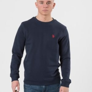 Us Polo Core F/T Crew Sweat Neule Sininen