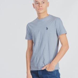 Us Polo Core Jersey T Shirt T-Paita Sininen