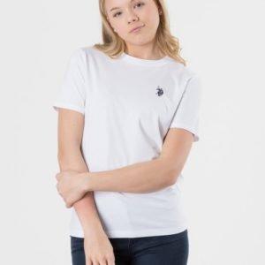 Us Polo Core Jersey T Shirt T-Paita Valkoinen