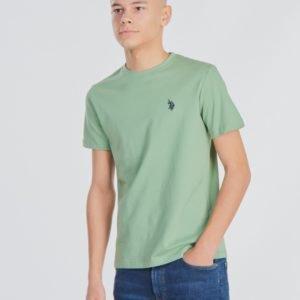 Us Polo Core Jersey T Shirt T-Paita Vihreä