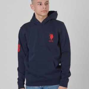 Us Polo Player 3 Oth Hoody Huppari Sininen